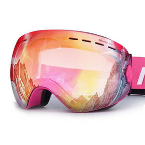 Double UV400 Anti-Fog Snowboard Goggles - Zalaxy