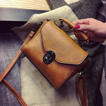 Load image into Gallery viewer, Vintage Leather Female Top-handle Bags