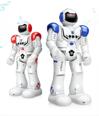 Robot USB Charging Dancing Gesture Action Figure Toy
