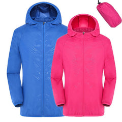 Quick Dry Men's Jackets Women Coats Windbreaker