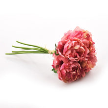 Load image into Gallery viewer, 5 Heads Artificial Flower Bouquet - Zalaxy