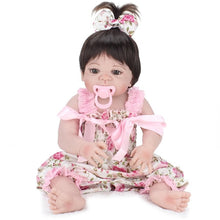 Load image into Gallery viewer, 55cm Soft Silicone Reborn Dolls Baby Realistic Doll - Zalaxy