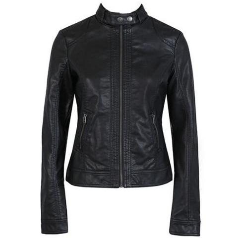 Women's Leather Jacket C01 - Zalaxy