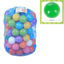 Load image into Gallery viewer, 100pcs/Lot Eco Friendly Colourful Soft Plastic Ball