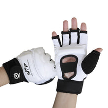 Load image into Gallery viewer, PU Leather Half Finger Boxing Gloves