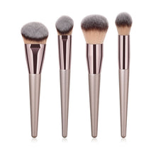 Load image into Gallery viewer, 10pcs/set Champagne Makeup Brushes Set - Zalaxy