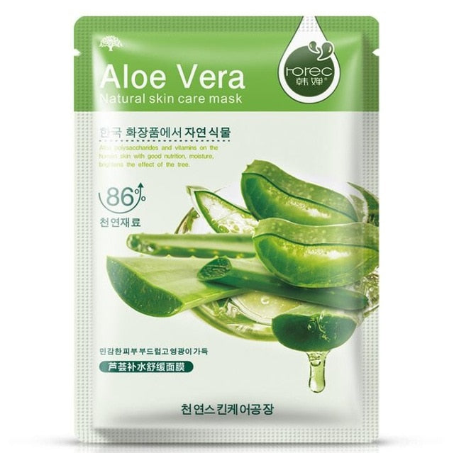 Facial Mask Plant Cosmetic SkinCare