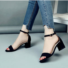Women Shoes Gladiator Buckle Strap