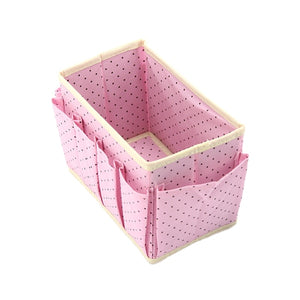 Foldable Home Cosmetic Storage Box