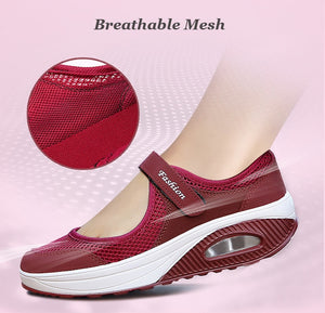 Woman Breathable Mesh Casual Shoes