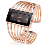 Women's Rose Gold Bracelet Watch - Zalaxy