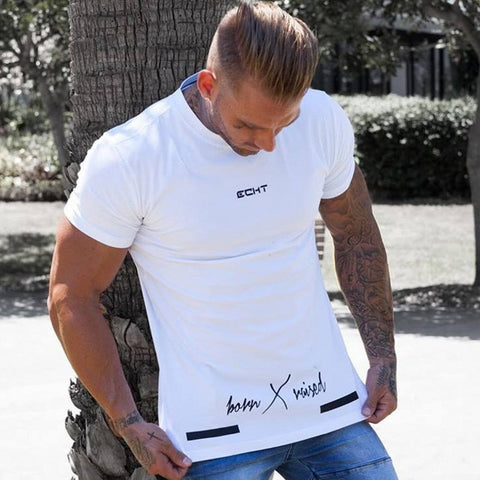 Men's Short Sleeve Cotton T-shirt
