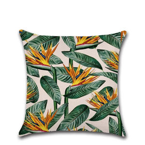 Tropical Plants Cushion Covers