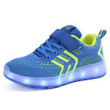 USB Charger Glowing Led Sneakers