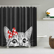 Load image into Gallery viewer, Cute Cat 3D Printed Shower Curtain - Zalaxy