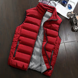 Cotton Padded Casual Vest Autumn/Winter Jackets C05 - Zalaxy