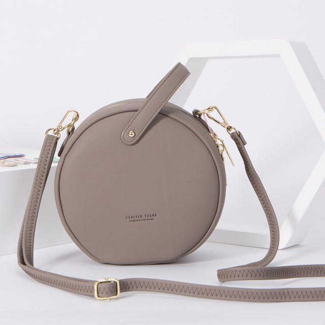 Round Female Handbag