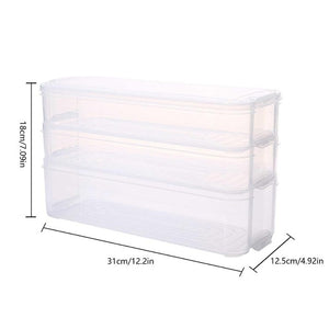 Plastic Storage Bins Refrigerator Storage Box