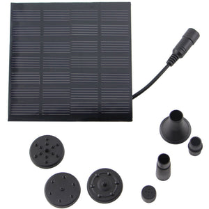 1.5W Solar Garden Fountain Pump - Zalaxy