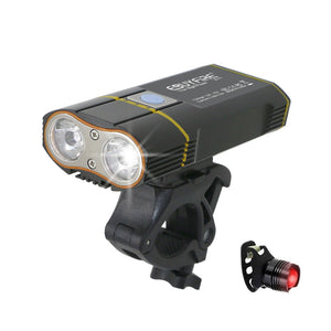 6000LM USB Bike Light - Zalaxy