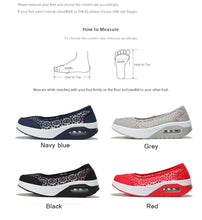 Load image into Gallery viewer, Women Breathable Casual Sneakers Shoes Slip On