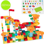 Marble Race Run Maze Ball Track Building Blocks - Zalaxy