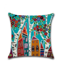 Load image into Gallery viewer, Hand-Painted Cushion Cover