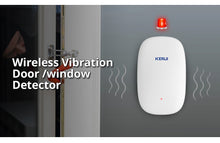 Load image into Gallery viewer, Wireless Home Vibration Detector Shock Door Window Sensor Alarm