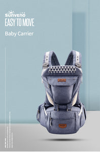 Ergonomic Baby Carrier Infant Baby Hipseat Carrier - Zalaxy