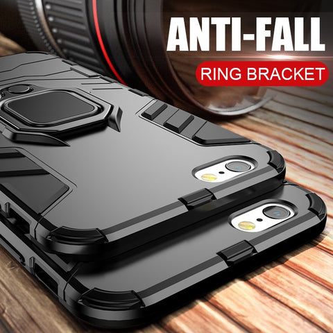 Shockproof Armor Stand Case For iphone