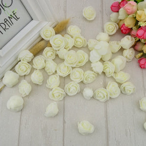 100pcs PE Foam Artificial Flowers - Zalaxy