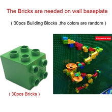 Load image into Gallery viewer, Creative Building Block Wall Base Plates Marble Race Run - Zalaxy