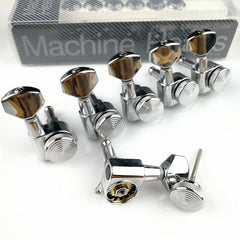 Chrome Guitar Locking Tuners