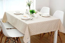 Load image into Gallery viewer, Flower Pattern Tablecloth
