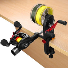 Load image into Gallery viewer, Fishing Line Spooler Fishing Gear Multifunction Baitcasting Reel Spooler