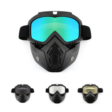 Full Face Snowboard Ski Mask With Anti-UV glasses - Zalaxy