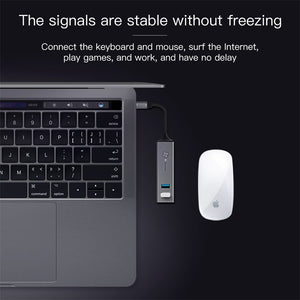 Type-C HUB Converter Adapter for MacBook Pro - Zalaxy