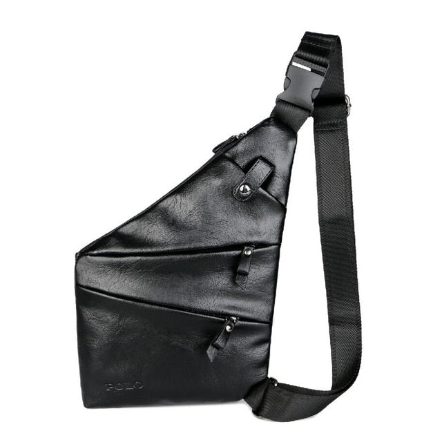 Leather Man Messenger Bag