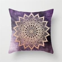 Load image into Gallery viewer, Mandala Cushion Cover Bohemian