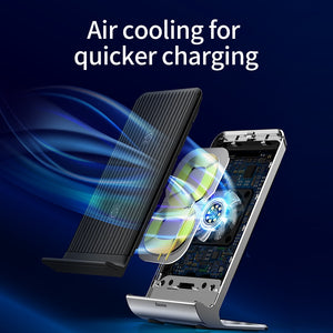 Intelligent Cooling Wireless Charging Pad For iPhone/Samsung - Zalaxy