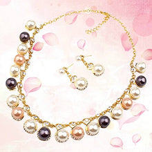 Load image into Gallery viewer, Pearl Jewelry Set