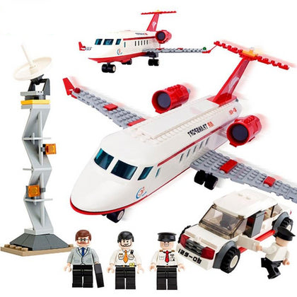 Airplane Air Bus Building Blocks Set - Zalaxy