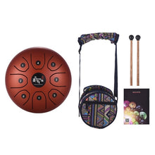 Load image into Gallery viewer, 5.5 Inch Tongue Drum Hand Pan Drum - Zalaxy