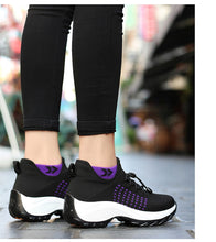 Load image into Gallery viewer, Spring Women Flat Platform Sneakers