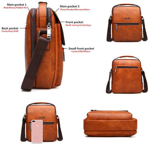 Large Capacity Man's Shoulder Bag