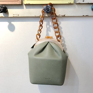 Acrylic Box Bag Bucket Bag For Women - Zalaxy