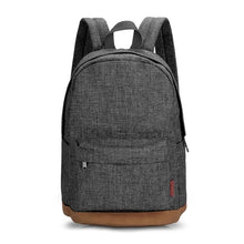 Load image into Gallery viewer, Male Canvas Backpack