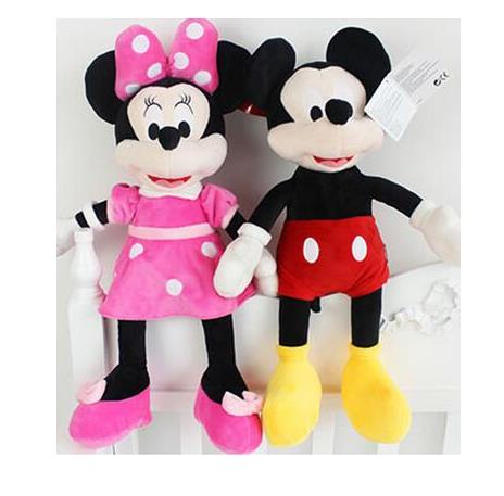 Mickey Mouse and Minnie Mouse Plush Toy