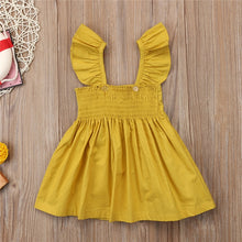 Load image into Gallery viewer, Baby Girl Dresses Clothing Sleeveless Ruffle Bowknot Dress