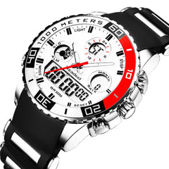 Men's Luxury Digital Quartz Sports Watch